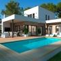 Exclusieve luxueuze villa met een panoramisch uitzicht op zee in Moraira (  Moraira Alicante Spanje )