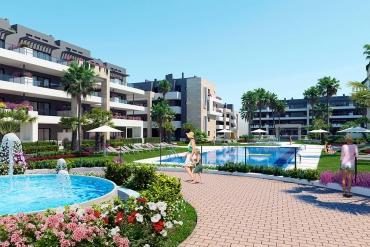 Penthouse en privésakterras in Playa Flamenca, Orihuela Costa ( Playa Flamenca Orihuela Costa Alicante Spanje )