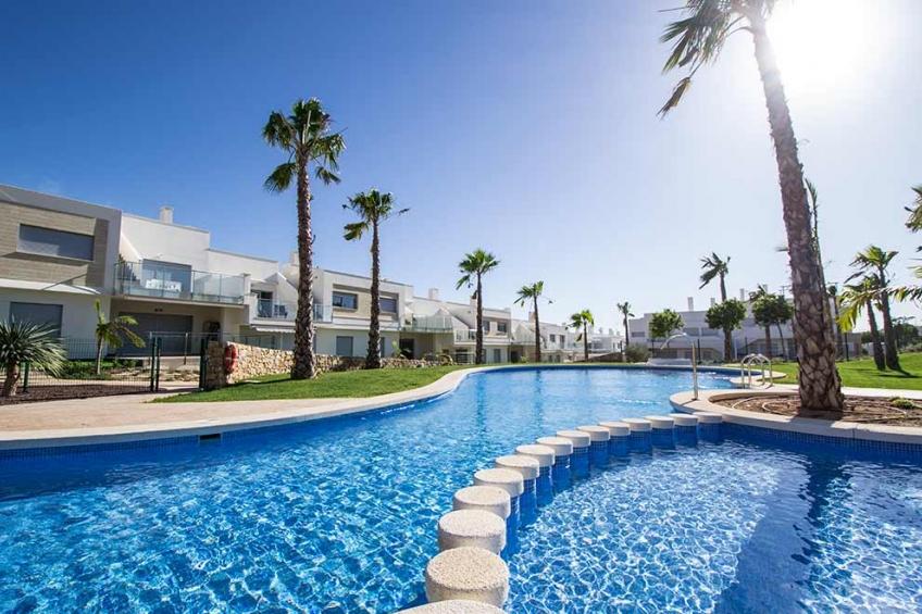 Appartement met 3 slaapkamers en privé tuin in Vistabella Golf ( Vistabella Golf Orihuela Costa Alicante Spanje )