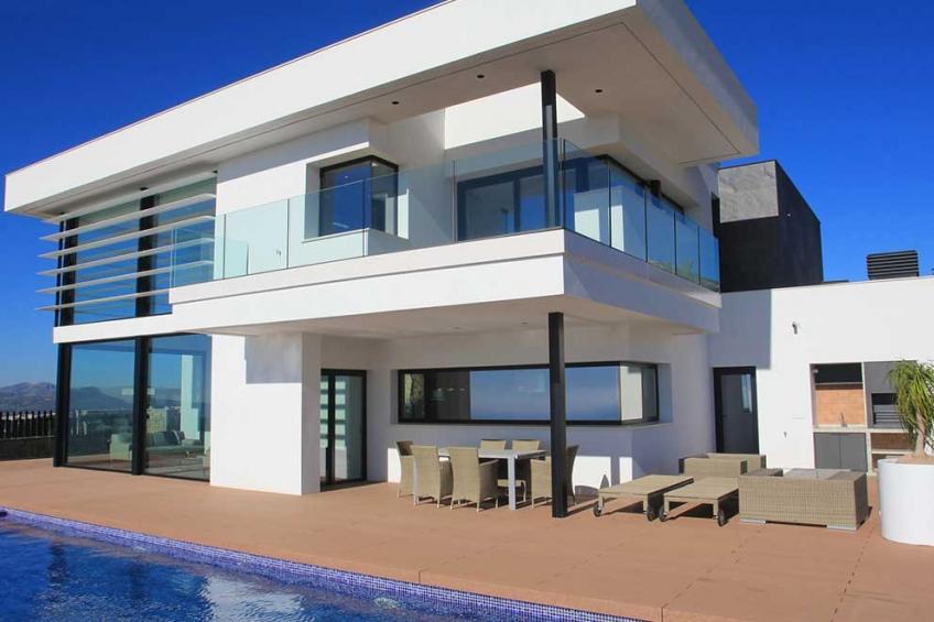 Luxe op maat gemaakte villa's in Cumbre del Sol (  Benitachell Alicante Spanje )