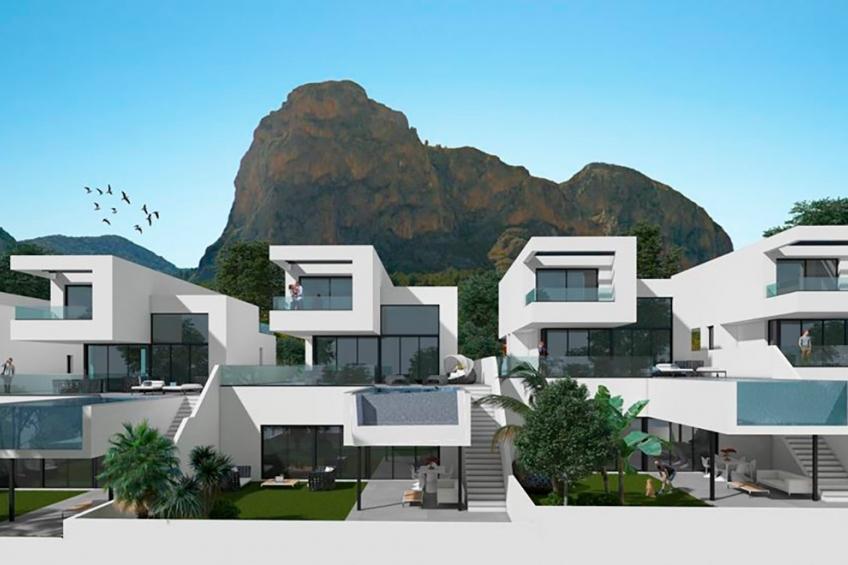 Luxe villa met panoramisch uitzicht in Polop (  Polop-La Nucía Alicante Spanje )