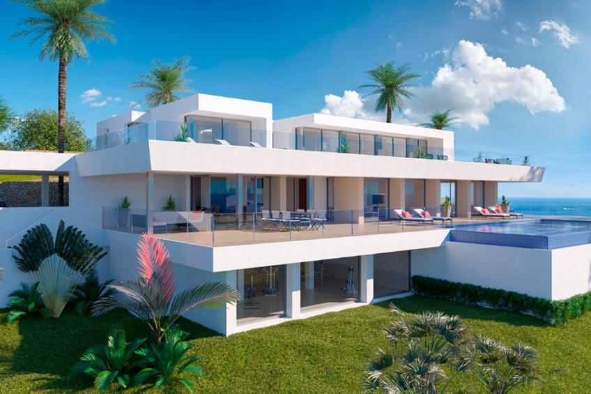 Luxe villa met 6 slaapkamers en spectaculair uitzicht op zee in Cumbre del Sol (  Benitachell Alicante Spanje )