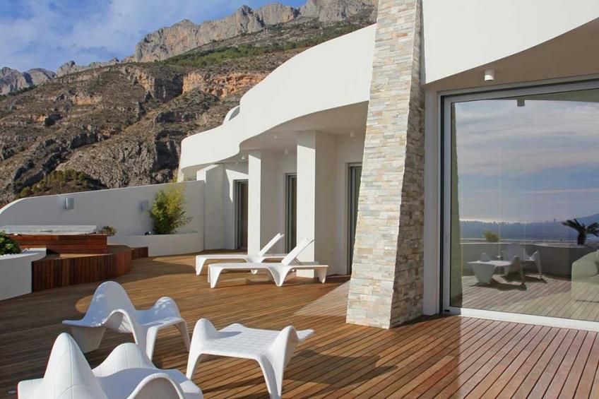 Luxe penthouse appartement met uitzicht op zee in Altea (  Altea Alicante Spanje )