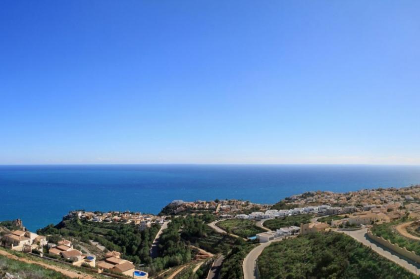 SLEUTELKLAAR! Luxe appartement met uitzicht op de zee tussen Moraira en Javea (  Cumbre del Sol Alicante Spanje )
