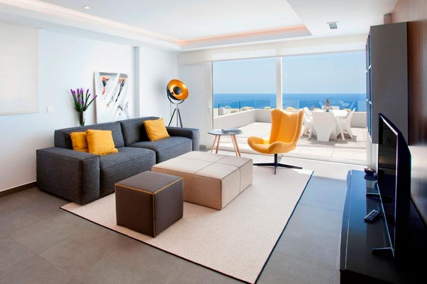 Luxe appartement met uitzicht op de zee tussen Moraira en Javea (  Benitachell Alicante Spanje )