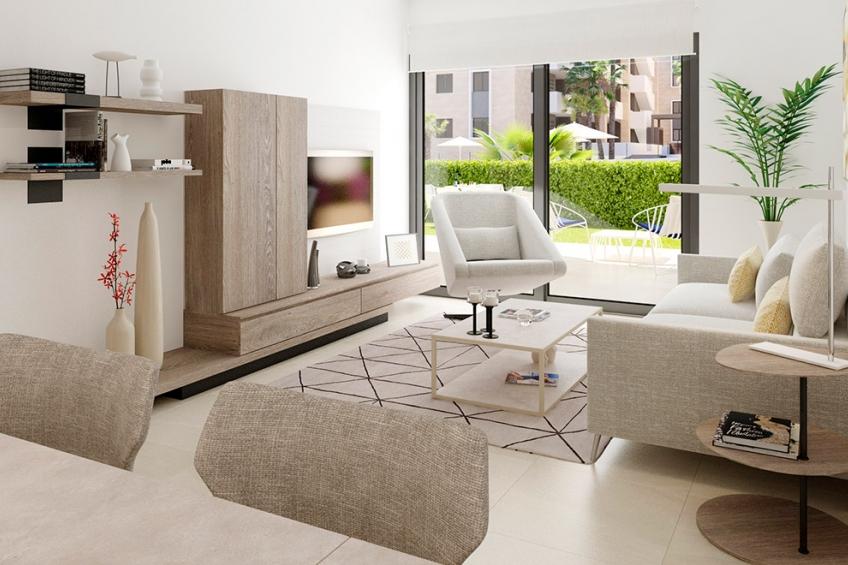 Appartement en groot terras in Playa Flamenca, Orihuela Costa ( Playa Flamenca Orihuela Costa Alicante Spanje )