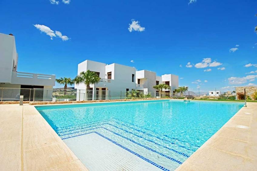 Moderne appartementen met privaat dakterras en uitzicht op de golfbaan ( La Finca Algorfa Alicante Spanje )