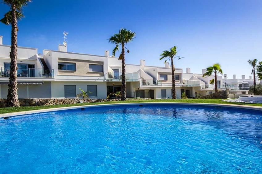 Appartement met 3 slaapkamers en privé solarium in Vistabella Golf ( Vistabella Golf Orihuela Costa Alicante Spanje )