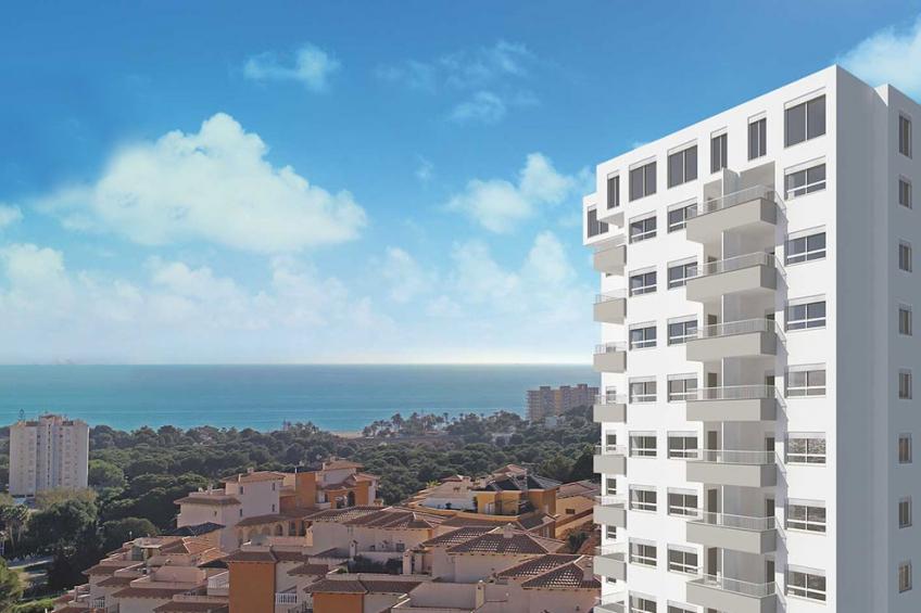 Appartement met 3 slaapkamers op 10 minuten van het strand van Campoamor ( Campoamor Orihuela Costa Alicante Spanje )