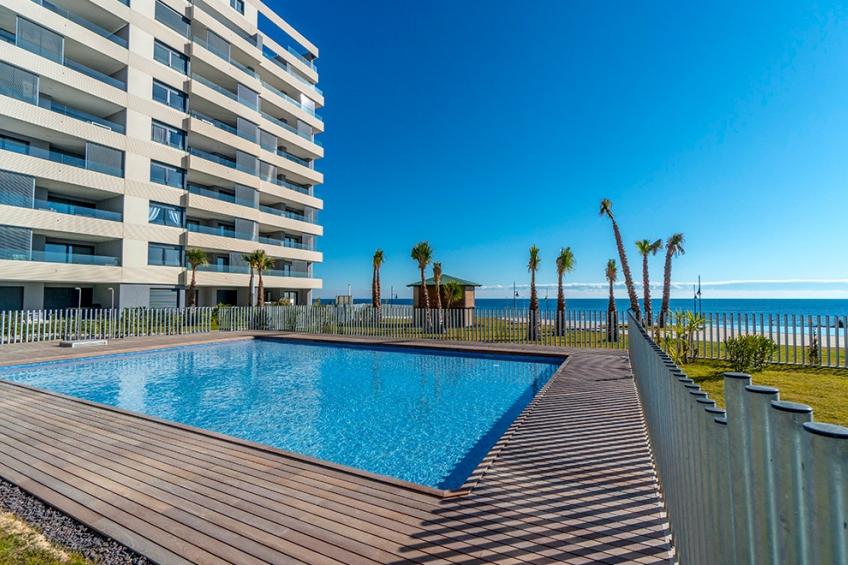 Eerstelijns appartementen aan het strand van Punta Prima ( Punta Prima Torrevieja Alicante Spanje )