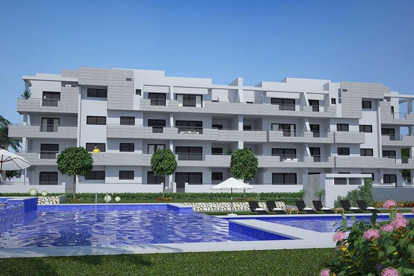 Exclusieve appartementen dicht bij het strand van La Zenia ( La Zenia Orihuela Costa Alicante Spanje )