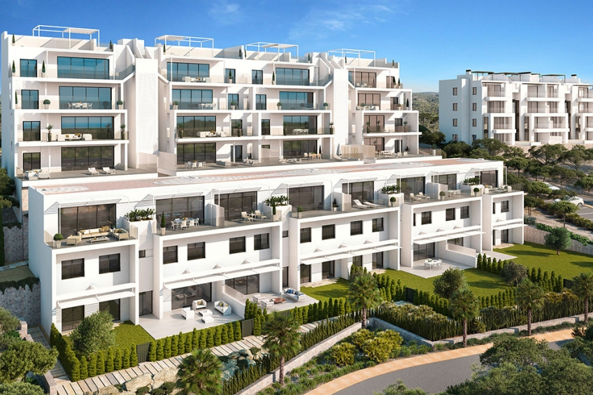 Exclusieve appartementen met 2 slaapkamers in Las Colinas Golf ( Las Colinas Golf Orihuela Costa Alicante Spanje )