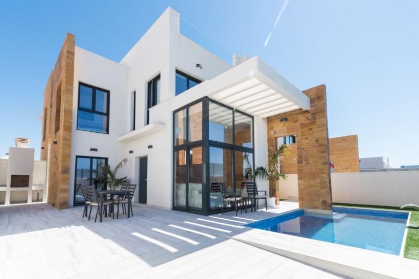 Moderne villa's met privé zwembad in Cabo Roig ( Cabo Roig Orihuela Costa Alicante Spanje )