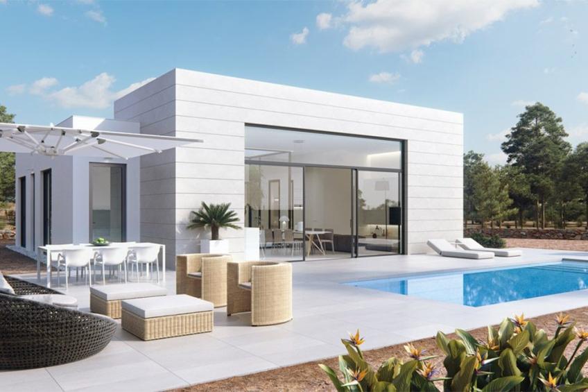 Luxe villa's op het exclusieve resort van Las Colinas Golf ( Las Colinas Golf Orihuela Costa Alicante Spanje )
