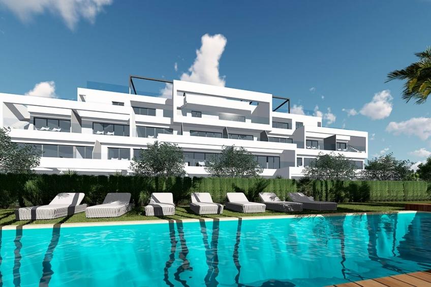 Appartement op de begane grond met eigen tuin in Las Colinas Golf ( Las Colinas Golf Orihuela Costa Alicante Spanje )
