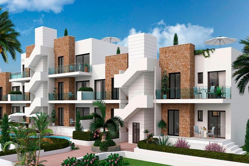 Appartement met eigen tuin in Arenales del Sol ( Arenales del Sol Elche Alicante Spanje )