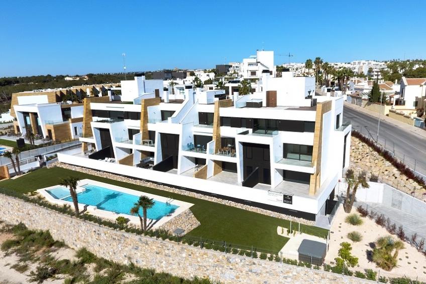 Penthouse met solarium en uitzicht op zee in Villamartín, Orihuela Costa ( Villamartin Orihuela Costa Alicante Spanje )