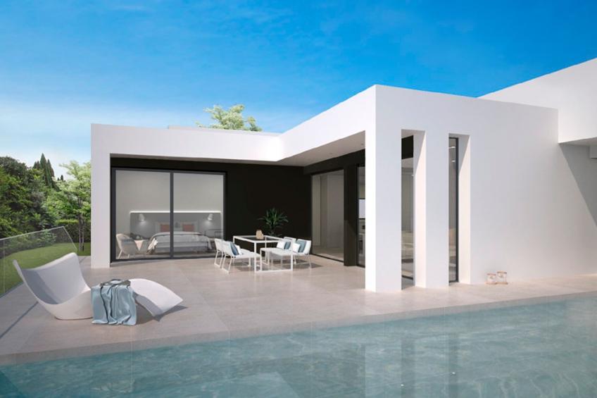 Moderne villa met uitzicht op zee in Cumbre del Sol (  Marina Alta Alicante Spanje )