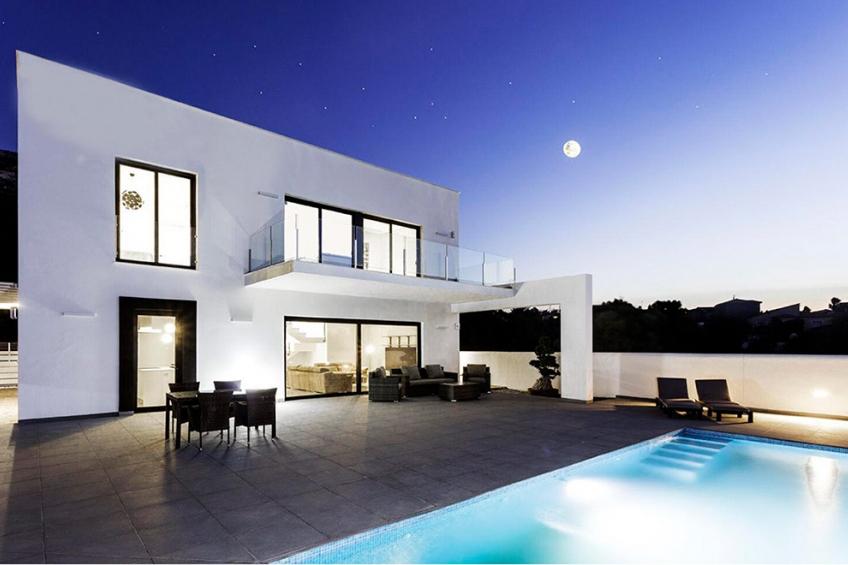 Exclusieve villa met een prachtig uitzicht in Denia (  Denia Alicante Spanje )