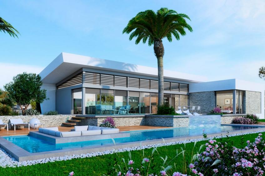 Exclusieve villa met 4 slaapkamers en kelder in Las Colinas Golf & Country Resort ( Las Colinas Golf Orihuela Costa Alicante Spanje )