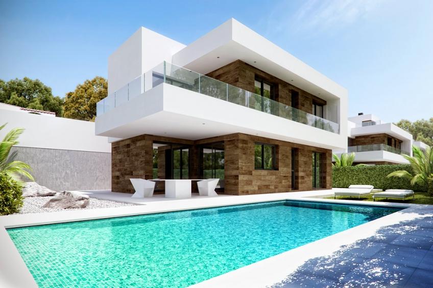 Designvilla met privézwembad en dakterras in Alfaz del Pi, Albir (  Alfaz del Pi - El Albir Alicante Spanje )